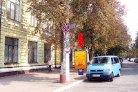 Ситилайт №158804 в городе Хмельницкий (Хмельницкая область), размещение наружной рекламы, IDMedia-аренда по самым низким ценам!