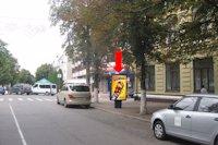 Ситилайт №158805 в городе Хмельницкий (Хмельницкая область), размещение наружной рекламы, IDMedia-аренда по самым низким ценам!