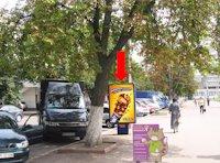 Ситилайт №158806 в городе Хмельницкий (Хмельницкая область), размещение наружной рекламы, IDMedia-аренда по самым низким ценам!