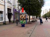 Ситилайт №158808 в городе Хмельницкий (Хмельницкая область), размещение наружной рекламы, IDMedia-аренда по самым низким ценам!