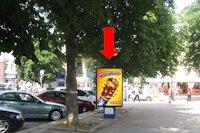 Ситилайт №158813 в городе Хмельницкий (Хмельницкая область), размещение наружной рекламы, IDMedia-аренда по самым низким ценам!