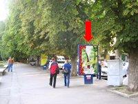 Ситилайт №158814 в городе Хмельницкий (Хмельницкая область), размещение наружной рекламы, IDMedia-аренда по самым низким ценам!