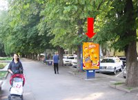 Ситилайт №158816 в городе Хмельницкий (Хмельницкая область), размещение наружной рекламы, IDMedia-аренда по самым низким ценам!
