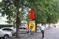 Ситилайт №158817 в городе Хмельницкий (Хмельницкая область), размещение наружной рекламы, IDMedia-аренда по самым низким ценам!