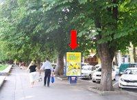 Ситилайт №158818 в городе Хмельницкий (Хмельницкая область), размещение наружной рекламы, IDMedia-аренда по самым низким ценам!
