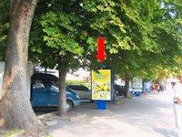 Ситилайт №158819 в городе Хмельницкий (Хмельницкая область), размещение наружной рекламы, IDMedia-аренда по самым низким ценам!