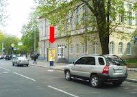 Ситилайт №158905 в городе Хмельницкий (Хмельницкая область), размещение наружной рекламы, IDMedia-аренда по самым низким ценам!
