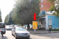 Ситилайт №158906 в городе Хмельницкий (Хмельницкая область), размещение наружной рекламы, IDMedia-аренда по самым низким ценам!