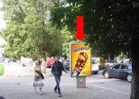 Ситилайт №158907 в городе Хмельницкий (Хмельницкая область), размещение наружной рекламы, IDMedia-аренда по самым низким ценам!
