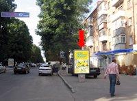 Ситилайт №158911 в городе Хмельницкий (Хмельницкая область), размещение наружной рекламы, IDMedia-аренда по самым низким ценам!