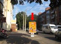 Ситилайт №158912 в городе Хмельницкий (Хмельницкая область), размещение наружной рекламы, IDMedia-аренда по самым низким ценам!