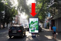 Ситилайт №158915 в городе Хмельницкий (Хмельницкая область), размещение наружной рекламы, IDMedia-аренда по самым низким ценам!