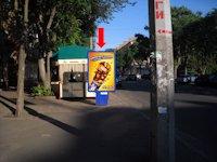 Ситилайт №159323 в городе Черкассы (Черкасская область), размещение наружной рекламы, IDMedia-аренда по самым низким ценам!