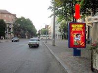 Ситилайт №159324 в городе Черкассы (Черкасская область), размещение наружной рекламы, IDMedia-аренда по самым низким ценам!