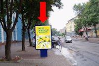 Ситилайт №159325 в городе Черкассы (Черкасская область), размещение наружной рекламы, IDMedia-аренда по самым низким ценам!