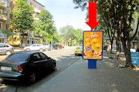 Ситилайт №159326 в городе Черкассы (Черкасская область), размещение наружной рекламы, IDMedia-аренда по самым низким ценам!