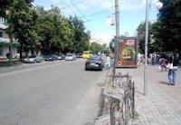 Ситилайт №159330 в городе Черкассы (Черкасская область), размещение наружной рекламы, IDMedia-аренда по самым низким ценам!