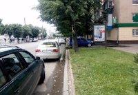 Ситилайт №159332 в городе Черкассы (Черкасская область), размещение наружной рекламы, IDMedia-аренда по самым низким ценам!