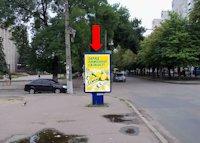 Ситилайт №159397 в городе Черкассы (Черкасская область), размещение наружной рекламы, IDMedia-аренда по самым низким ценам!