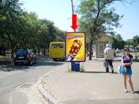 Ситилайт №159398 в городе Черкассы (Черкасская область), размещение наружной рекламы, IDMedia-аренда по самым низким ценам!