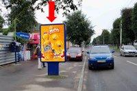 Ситилайт №159399 в городе Черкассы (Черкасская область), размещение наружной рекламы, IDMedia-аренда по самым низким ценам!