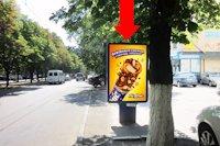 Ситилайт №159402 в городе Черкассы (Черкасская область), размещение наружной рекламы, IDMedia-аренда по самым низким ценам!