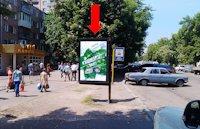Ситилайт №159403 в городе Черкассы (Черкасская область), размещение наружной рекламы, IDMedia-аренда по самым низким ценам!