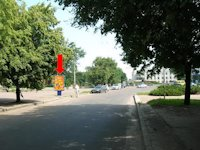 Ситилайт №159405 в городе Черкассы (Черкасская область), размещение наружной рекламы, IDMedia-аренда по самым низким ценам!