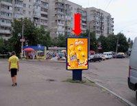Ситилайт №159411 в городе Черкассы (Черкасская область), размещение наружной рекламы, IDMedia-аренда по самым низким ценам!