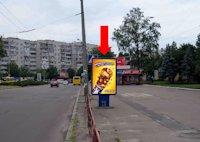 Ситилайт №159416 в городе Черкассы (Черкасская область), размещение наружной рекламы, IDMedia-аренда по самым низким ценам!