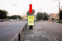 Ситилайт №159418 в городе Черкассы (Черкасская область), размещение наружной рекламы, IDMedia-аренда по самым низким ценам!
