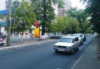 Ситилайт №159419 в городе Черкассы (Черкасская область), размещение наружной рекламы, IDMedia-аренда по самым низким ценам!