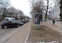 Ситилайт №159705 в городе Чернигов (Черниговская область), размещение наружной рекламы, IDMedia-аренда по самым низким ценам!