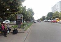 Ситилайт №159708 в городе Чернигов (Черниговская область), размещение наружной рекламы, IDMedia-аренда по самым низким ценам!