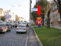 Ситилайт №160223 в городе Черновцы (Черновицкая область), размещение наружной рекламы, IDMedia-аренда по самым низким ценам!