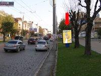 Ситилайт №160225 в городе Черновцы (Черновицкая область), размещение наружной рекламы, IDMedia-аренда по самым низким ценам!