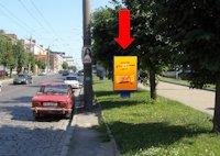 Ситилайт №160227 в городе Черновцы (Черновицкая область), размещение наружной рекламы, IDMedia-аренда по самым низким ценам!