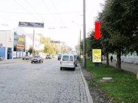 Ситилайт №160231 в городе Черновцы (Черновицкая область), размещение наружной рекламы, IDMedia-аренда по самым низким ценам!
