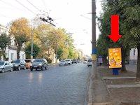 Ситилайт №160237 в городе Черновцы (Черновицкая область), размещение наружной рекламы, IDMedia-аренда по самым низким ценам!