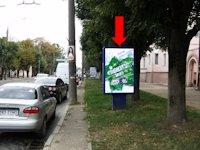 Ситилайт №160239 в городе Черновцы (Черновицкая область), размещение наружной рекламы, IDMedia-аренда по самым низким ценам!