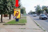 Ситилайт №160240 в городе Черновцы (Черновицкая область), размещение наружной рекламы, IDMedia-аренда по самым низким ценам!