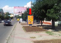 Ситилайт №160241 в городе Черновцы (Черновицкая область), размещение наружной рекламы, IDMedia-аренда по самым низким ценам!