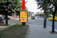 Ситилайт №160242 в городе Черновцы (Черновицкая область), размещение наружной рекламы, IDMedia-аренда по самым низким ценам!
