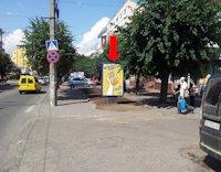 Ситилайт №160243 в городе Черновцы (Черновицкая область), размещение наружной рекламы, IDMedia-аренда по самым низким ценам!