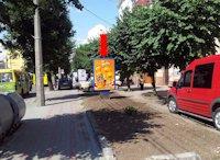 Ситилайт №160245 в городе Черновцы (Черновицкая область), размещение наружной рекламы, IDMedia-аренда по самым низким ценам!