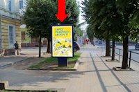Ситилайт №160246 в городе Черновцы (Черновицкая область), размещение наружной рекламы, IDMedia-аренда по самым низким ценам!