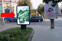 Ситилайт №160248 в городе Черновцы (Черновицкая область), размещение наружной рекламы, IDMedia-аренда по самым низким ценам!