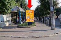 Ситилайт №160250 в городе Черновцы (Черновицкая область), размещение наружной рекламы, IDMedia-аренда по самым низким ценам!