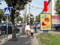 Ситилайт №160251 в городе Черновцы (Черновицкая область), размещение наружной рекламы, IDMedia-аренда по самым низким ценам!