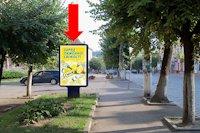 Ситилайт №160252 в городе Черновцы (Черновицкая область), размещение наружной рекламы, IDMedia-аренда по самым низким ценам!